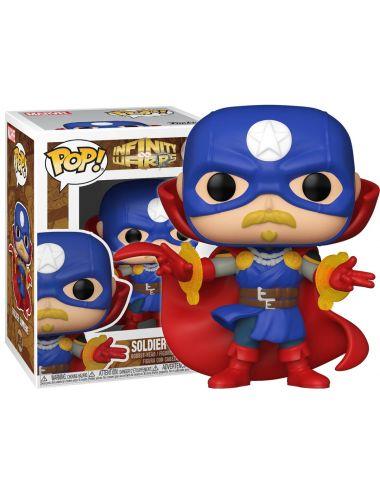 Funko POP! Marvel Soldier Supreme Infinity Warps Figurka 858