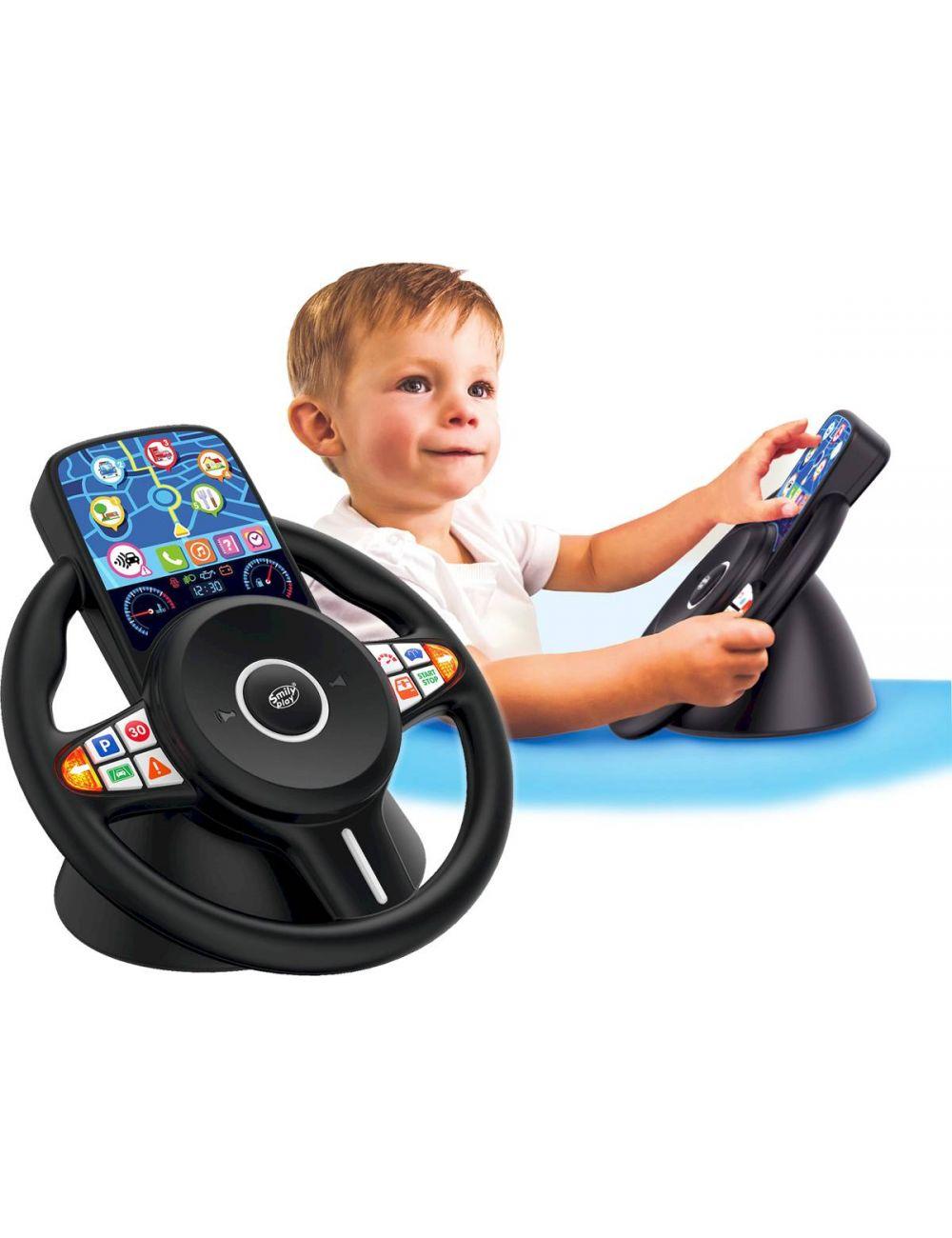 Smily Play Mówiąca Kierownica Interaktywna Symulator Jazdy SP83676
