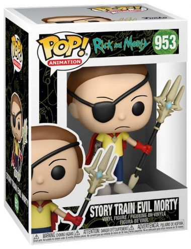 Funko POP! Animation Story Train Evil Morty Figurka 953