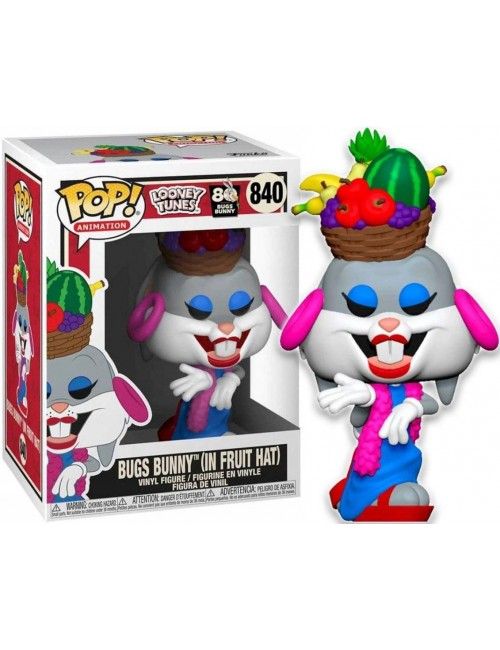 Funko POP! Animation Bugs Bunny In Fruit Hat Looney Tunes 840