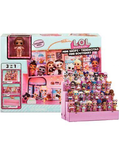 LOL Walizka dla Lalek Domek Mini Shops 3w1 576297