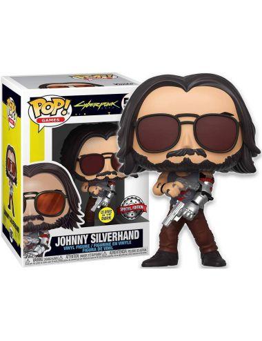 Funko POP! Games Johnny Silverhand z Bronią Cyberpunk 2077 Edycja Specjalna 592