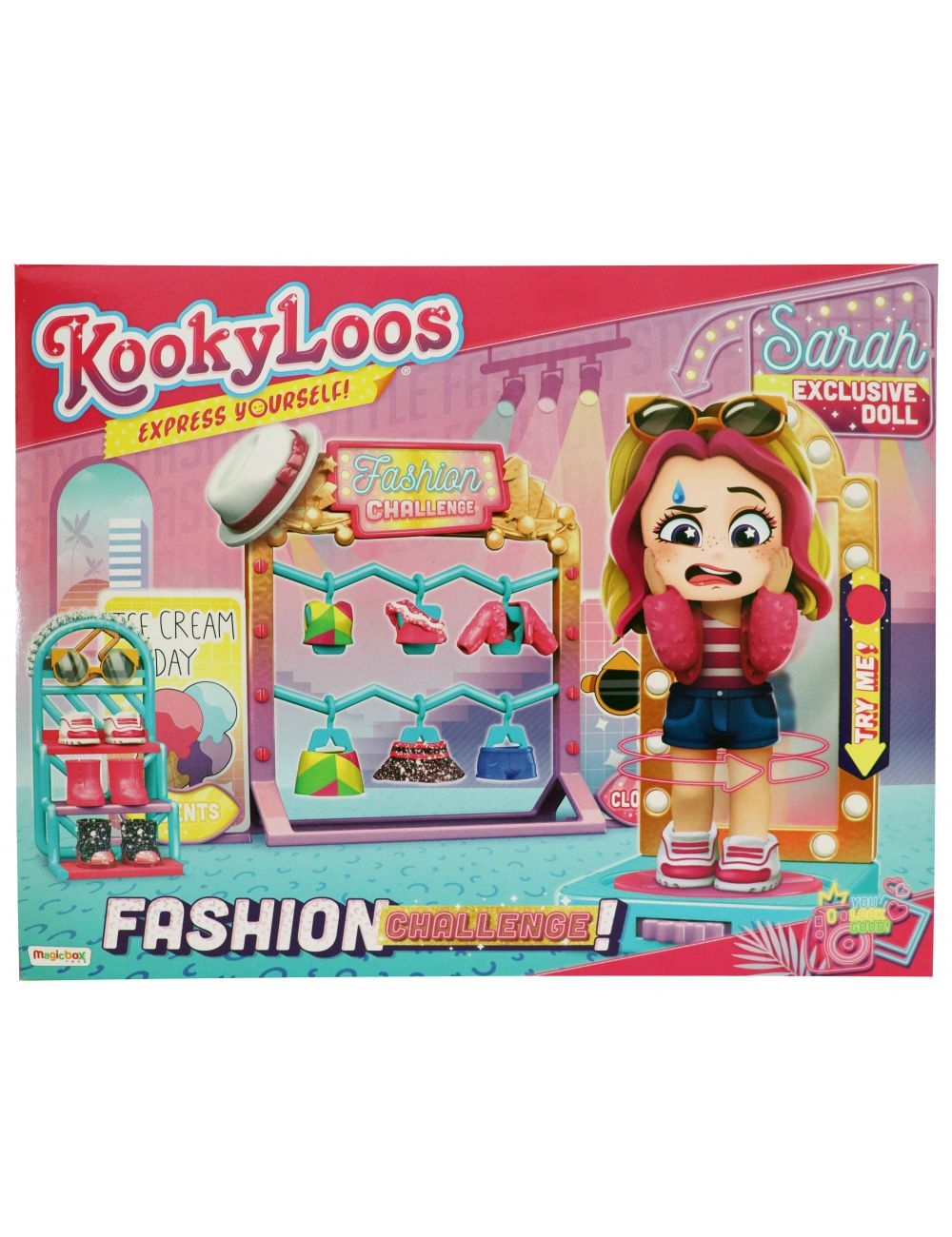 KookyLoos Fashion Challenge Modne Wyzwanie Laleczka Sarah