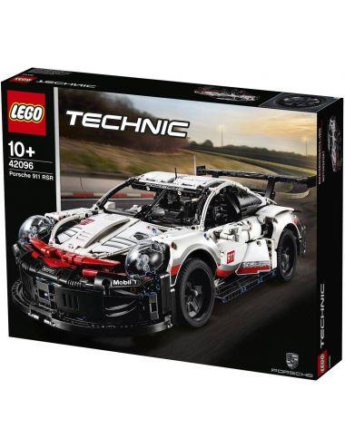 LEGO Technic Porsche 911 RSR Replika Samochodu 42096