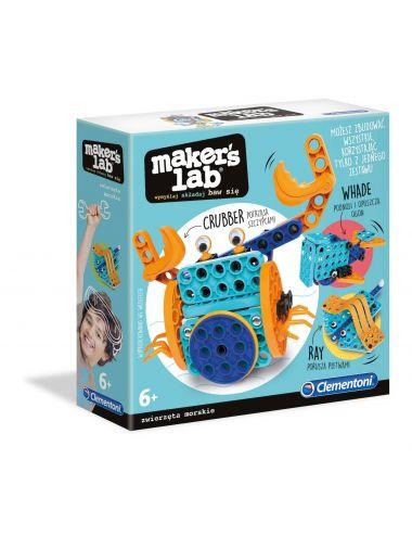 Clementoni Maker's Lab Zwierzęta Morskie Buduj i Baw Się 50661