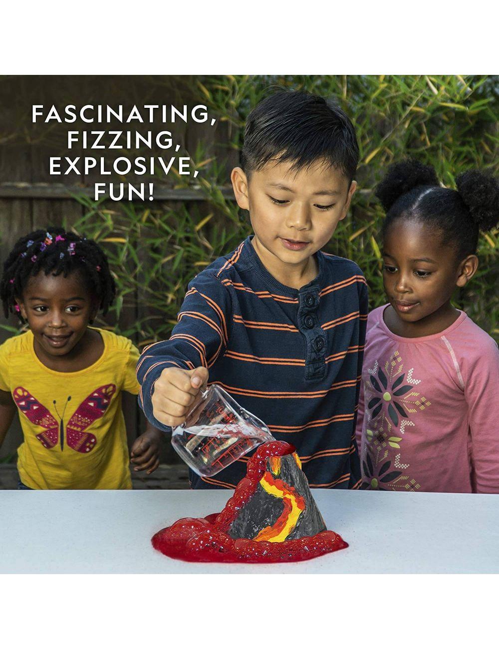 National Geographic Zbuduj Własny Wulkan Zestaw Naukowy