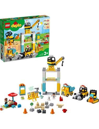 LEGO Duplo Żuraw wieżowy i budowa 10933