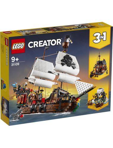 LEGO Creator Statek piracki 3w1 31109