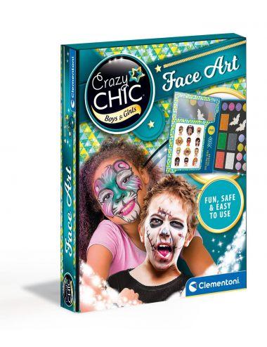 Clementoni Crazy Chic Zestaw Do Malowania Twarzy 78768