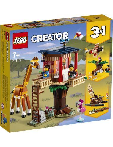 LEGO Creator Domek na drzewie na safari 31116