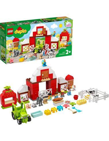 LEGO Duplo Stodoła, traktor i zwierzęta gospodarskie 10952