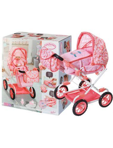 Baby Annabell Wózek Dla Lalki Deluxe Różowy 703939