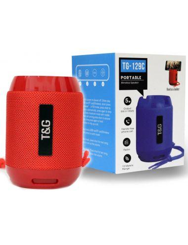 Głośnik Bezprzewodowy T&G Przenośny Mix Wzorów 538900
