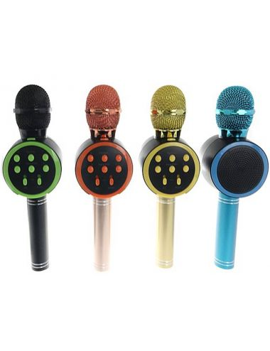 Mikrofon Z Głośnikiem Bluetooth Wielofunkcyjny Głośnik Mix 548633