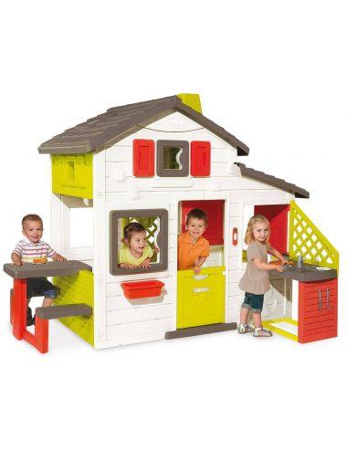 Smoby Domek Ogrodowy Friends House z Kuchnią 810200