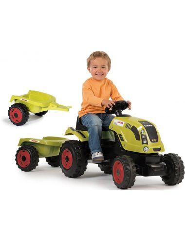 Smoby Traktor XL Ciągnik z Przyczepą CLAAS 710114
