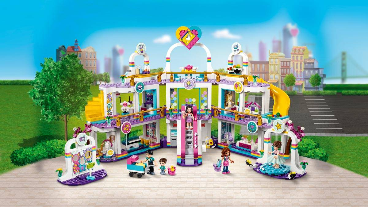 LEGO Friends Centrum handlowe w Heartlake City 41450