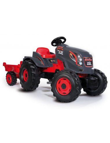Smoby Traktor farmer XXL ciągnik z przyczepą STRONGER