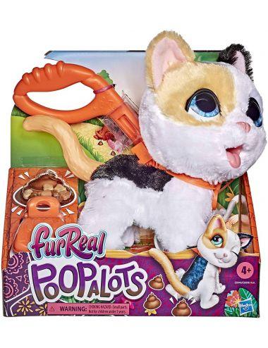 FurReal Poopalots Duże Zwierzaki Kotek Interaktywny Hasbro E8946