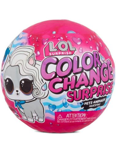 LOL Surprise Kula Color Change Pets Zwierzątko 576334