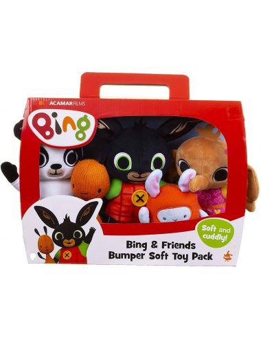 Bing i Przyjaciele Zestaw Pluszaków Przytulanek 3569