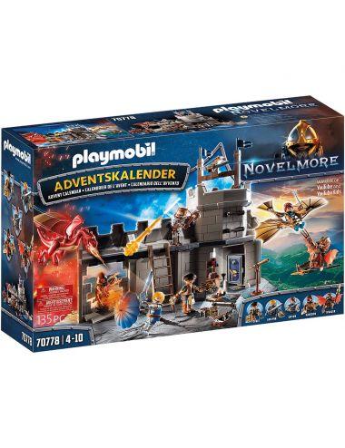 Playmobil 70778 Kalendarz Adwentowy Novelmore Warsztat Dario Zestaw