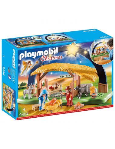 Playmobil 9494 Stajenka z Oświetleniem Zestaw Świąteczny