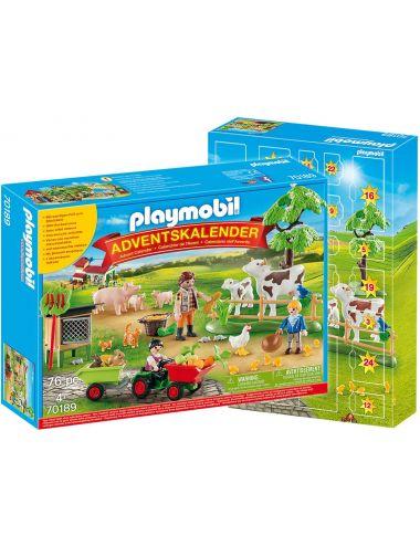 Playmobil 70189 Kalendarz Adwentowy Gospodarstwo Rolne