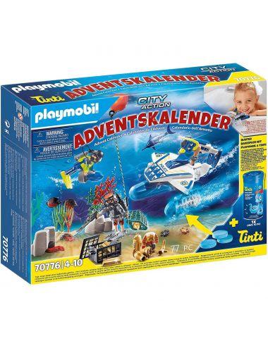 Playmobil 70776 Kalendarz Adwentowy Zabawa W Wodzie Akcja Nurków
