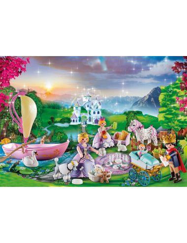 Playmobil 70323 Kalendarz Adwentowy Piknik Królewski w Parku
