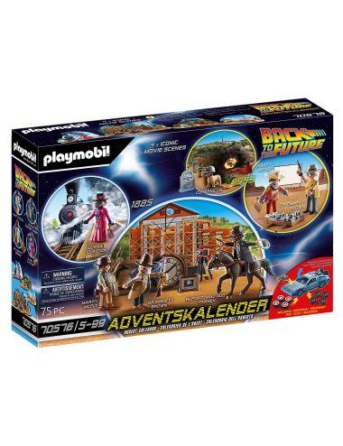 Playmobil 70576 Kalendarz Adwentowy Back To The Future Część 3