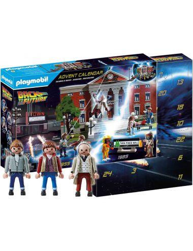 Playmobil 70574 Kalendarz Adwentowy Back To The Future