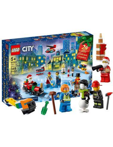 LEGO Kalendarz Adwentowy City Niespodzanki Zestaw 60303