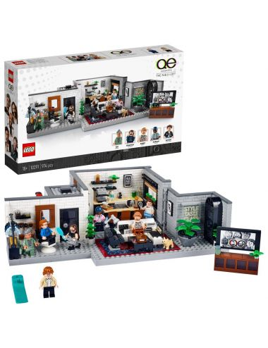LEGO Creator Queer Eye - Mieszkanie Fab Five 10291