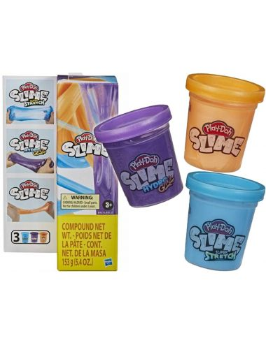 Play-Doh Slime 3-Pak Kolorów Tuba Hasbro E9375