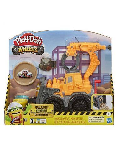 Play-Doh Spychacz Koparka Ładowarka Ciastolina Zestaw Hasbro E9226