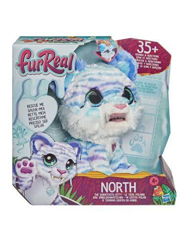 FurReal Tygrys Szablozębny North Pluszak Interaktywny Kot Hasbro E9587