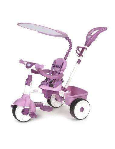 LITTLE TIKES Rowerek Trójkołowy 4w1 Różowy