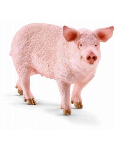 Schleich Świnia Domowa Figurka Farm World 13782S