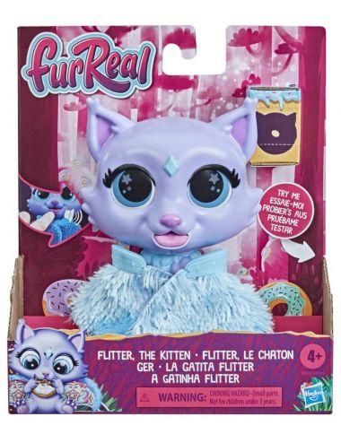 FurReal Friends Kotek Flitter Interaktywna Maskotka Hasbro F1827