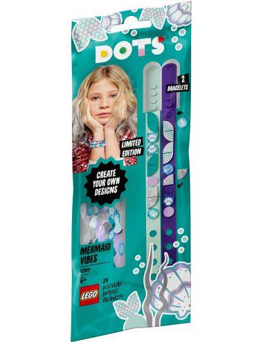 LEGO Dots Bransoletki z syrenim wdziękiem 41909