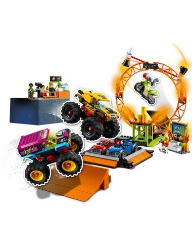 LEGO City Stuntz Arena Pokazów Kaskaderskich Zestaw 60295
