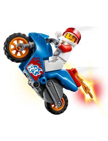 LEGO City Stuntz Rakietowy Motocykl Kaskaderski 60298