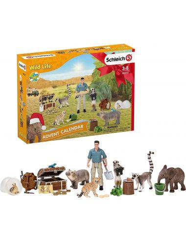 Schleich Kalendarz Adwentowy 2021 Wild Life 98272