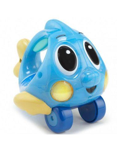 Little Tikes Mały Ocean Świecąca Rybka Niebieska