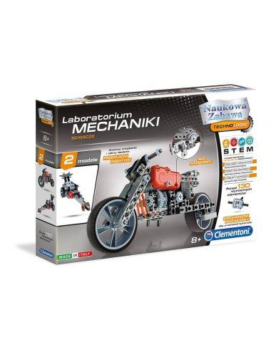 Clementoni ŚCIGACZE Laboratorium Mechaniki Motory Pojazdy