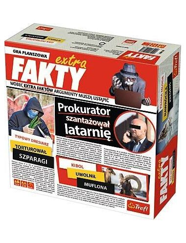 TREFL Extra FAKTY gra planszowa