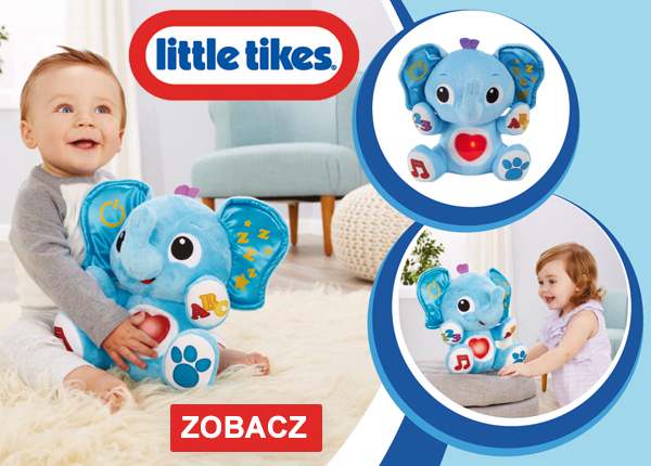 Słonik interaktywny Little Tikes