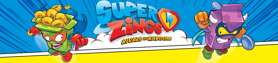 Super Zings Rivals of Kaboom