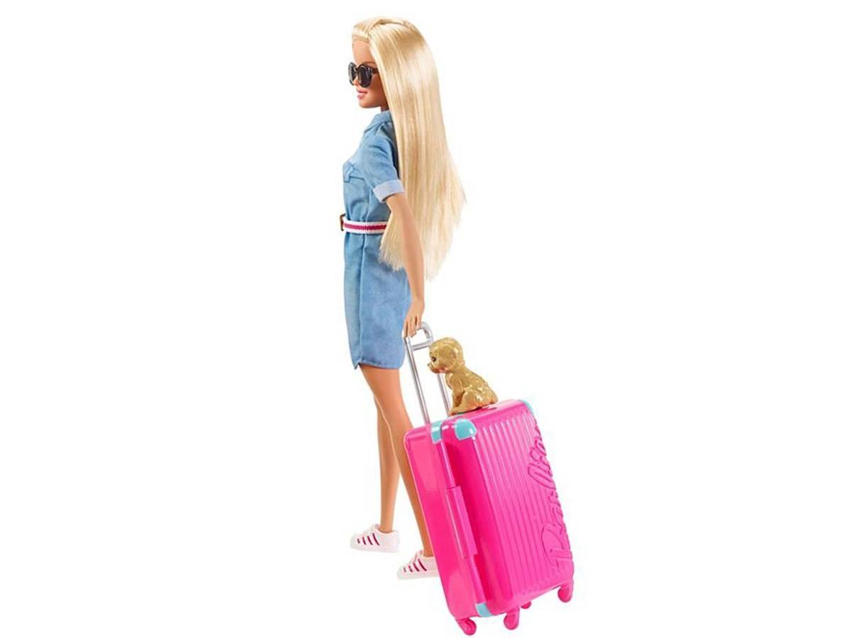 Barbie lalka Opiekunka w podróży